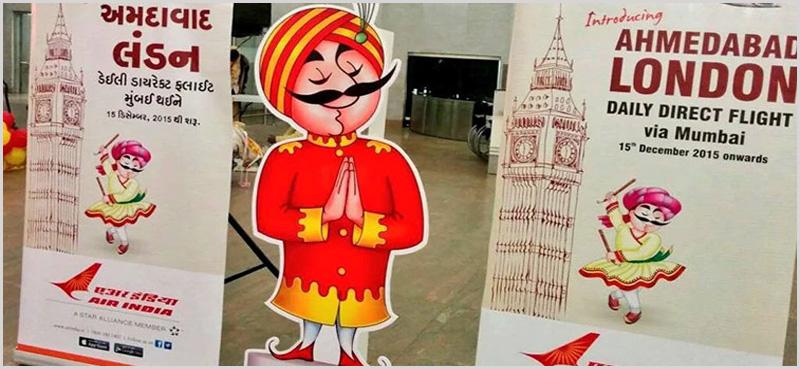 Air India to Ahmedabad